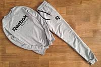 Спортивный костюм Reebok серый цвет, ф2754
