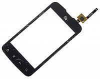 Сенсорный экран для FLY IQ238 Jazz черный и белый