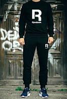 Спортивный костюм Reebok, черный, ф2785