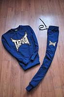 Спортивный костюм Tapout синий, для мужчин, ф2812
