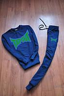 Спортивный костюм Tapout синий, турецкий,  ф2814