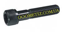 Винт М6х75 8.8 без покрытия DIN 912, ГОСТ 11738-84 с цилиндрической головкой и внутренним шестигранником