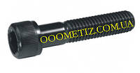 Винт М6х80 8.8 без покрытия DIN 912, ГОСТ 11738-84 с цилиндрической головкой и внутренним шестигранником