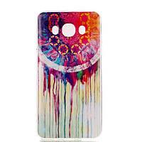 TPU чехол для Samsung J710F Galaxy J7 2016(самсунг гэлэкси джи 7 2016) Ловец снов