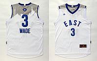 Мужская баскетбольная майка 2016 All Star Game Eastern (Dwyane Wade)