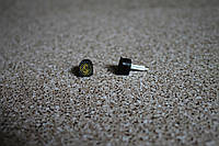 Набойки полиуретановые женские со штырем Supertop 604А, размер - 9*10, цвет - черный