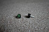 Набойки полиуретановые женские со штырем Supertop 604, размер - 10*11, цвет - черный