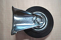 Колеса для тележек (тачек) 125 мм, не поворотные