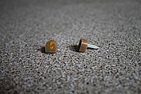 Набойки полиуретановые женские со штырем Supertop 604, размер - 10*11, цвет - бежевый