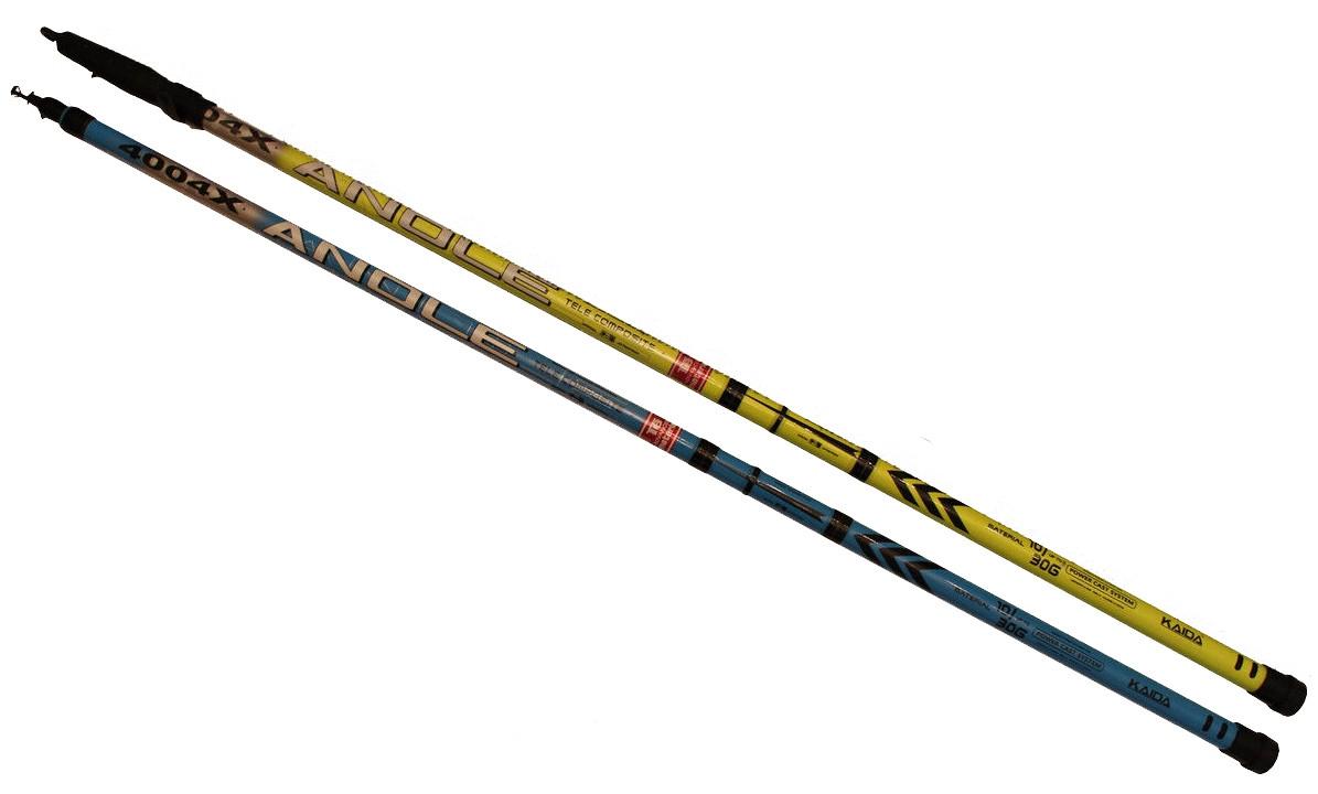 Удочка телескопическая Kaida Surpass без колец, 4,5м