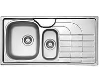 Кухонная мойка из нержавеющей стали LONGRAN PLP 1000.500 15 GT полированная