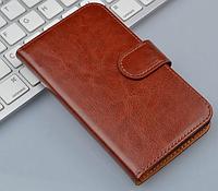 Чехол книжка для  Nokia Lumia 640 коричневый