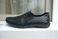 Туфли кожаные ,мокасины кожаные , туфли для подростка в школу 34-39