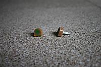 Набойки полиуретановые женские со штырем Supertop 606А, размер - 12*12, цвет - бежевый