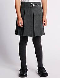 "Школьная юбка Marks & Spencer - ""Hello Kitty"" (Англия), оригинал, размер 6 - 7 лет, рост 122 см"