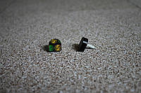 Набойки полиуретановые женские со штырем Supertop 609А, размер - 14*14, цвет - черный, фото 1