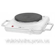 Плита электрическая однокомфорочная настольная Clatronic 3582 EKP white