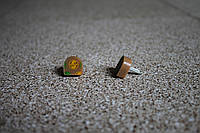 Набойки полиуретановые женские со штырем Supertop 609А, размер - 14*14, цвет - бежевый, фото 1