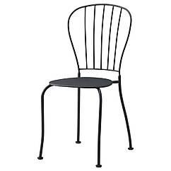 LÄCKÖ Krzesło, ogrodowe, szary 601.518.40