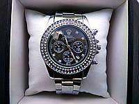 Наручные часы с  камешками Rolex