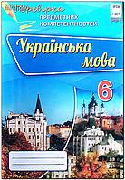 6 клас   Перевірка предметних компетентностей. Українська мова  Авраменко