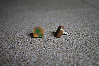 Набойки полиуретановые женские со штырем Supertop 612А, размер - 16*16, цвет - бежевый, фото 1