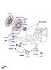 Корзина сцепления на Hyundai Elantra.Код:41300-26021