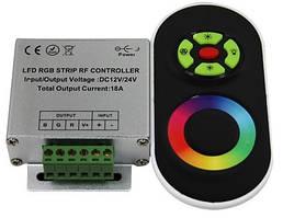 Контроллер RGB Радио 18А RF (черное ДУ) №55/1