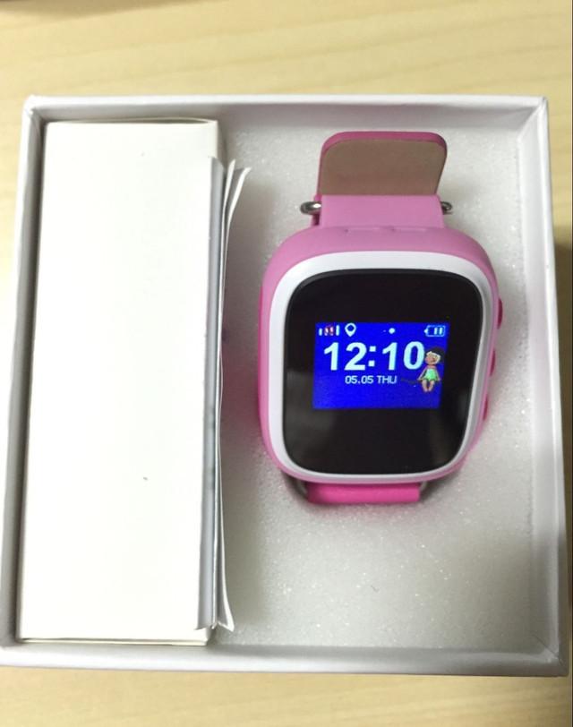 Детские часы-телефон с GPS трекером Q70