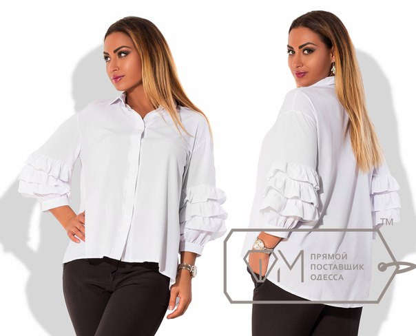 Женские блузки с воланами купить