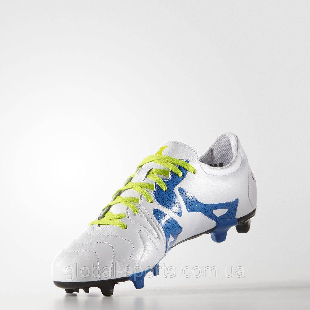 0758adcd Футбольные бутсы Adidas X 15.3 FG/AG Leather (Артикул: S74641) - магазин
