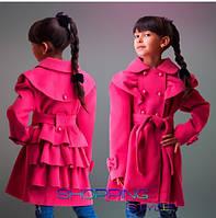 Пальто кашемировое на девочку 347