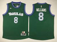 Мужская баскетбольная майка Dallas Mavericks (Deron Williams) Green