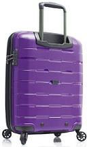 Вместительный замечательный пластиковый 4-колесный чемодан 38 л. Heys Zeus (S) Purple, 923054 фиолетовый, фото 2