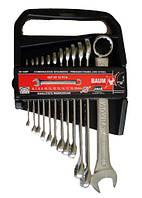 Набор ключей рожково-накидных в пластиковом держателе 12 пр. (6-22 мм)