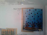 Шторка,занавеска в ванную комнату Miranda(red sea)