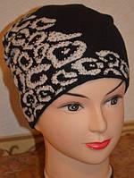 Стильная женская шапка Лео