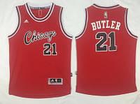 Мужская баскетбольная майка Chicago Bulls (Jimmy Butler) Red