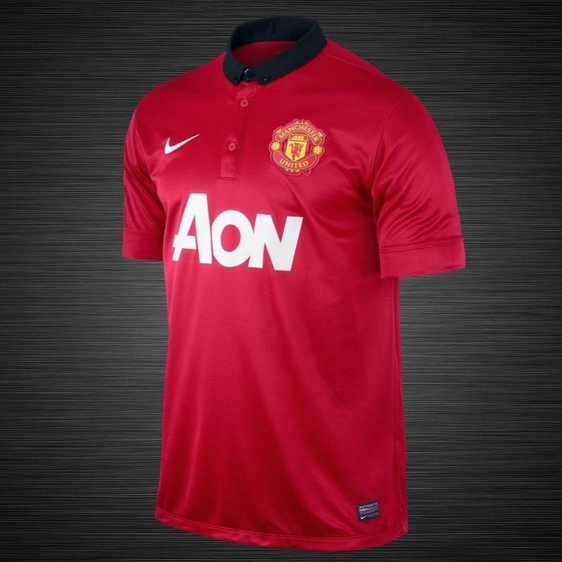 Детская клубная футболка Nike Man. United Shirt Home