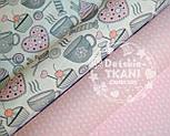 """Лоскут ткания Bora """"Свитерок"""", розовый цвет , фото 5"""
