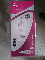 Полка для ванной комнаты 4 яруса PrimaNova N13