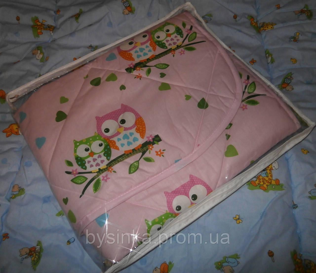 Одеяло-плед легкое -детское (двухстороннее)
