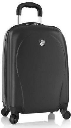 Небольшой пластиковый 4-колесный чемодан 34 л. Heys xcase Spinner (S) Black, 923042 черный