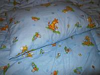 Подушка и одеяло детское набор в кроватку