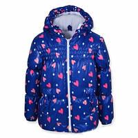 Детская куртка с капюшоном Оленка