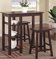 Комплект Мишен (стол+2 табуретки)