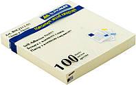 Блок post-it 76*76 мм, 100 листов, желтый. BuroMax