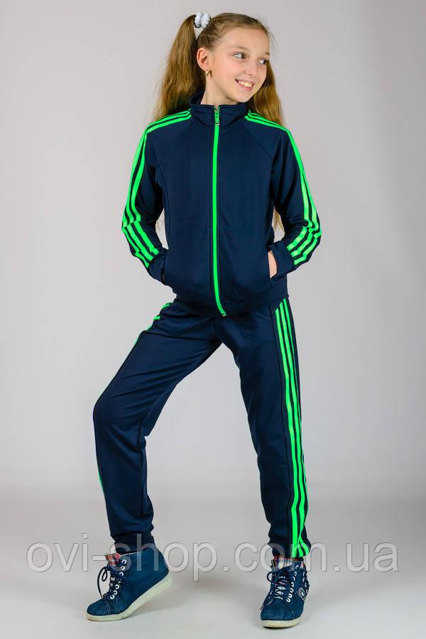 Спортивний костюм дитячий темно-синій