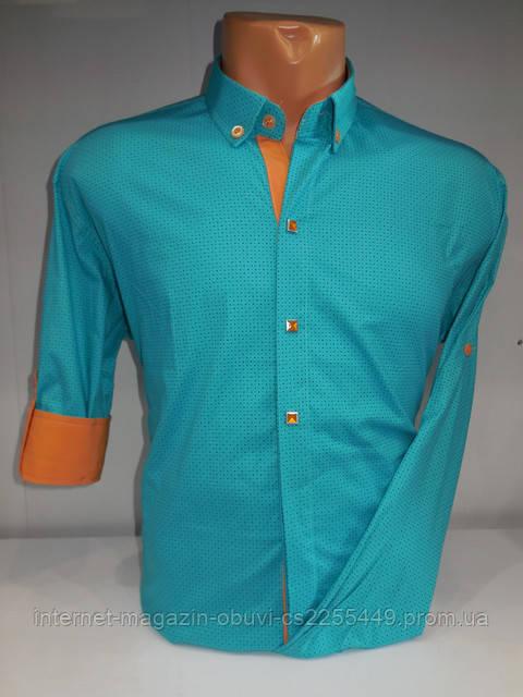 Поступление стильных мужских рубашек!