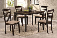 Комплект Кортес (стол+4 стула)